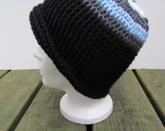 PDF Crochet Pattern - 3 hat patterns - Adult Hat Trio Number 2 (permission to sell finished items) - Instant Download