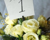 Printable Wedding Table Numbers 13-24 - Instant download