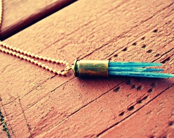 Kyanite Spear Necklace…Necklace A