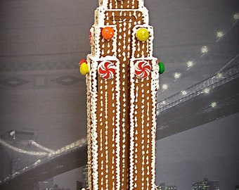 Faux Gingerbread Empire State Building