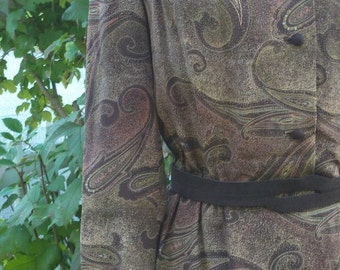 "speckle and paisley """" designer midi dress """" ON SALE"