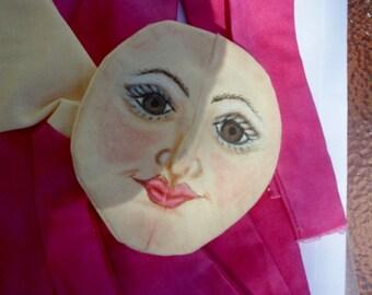 Pre Painted art doll kit