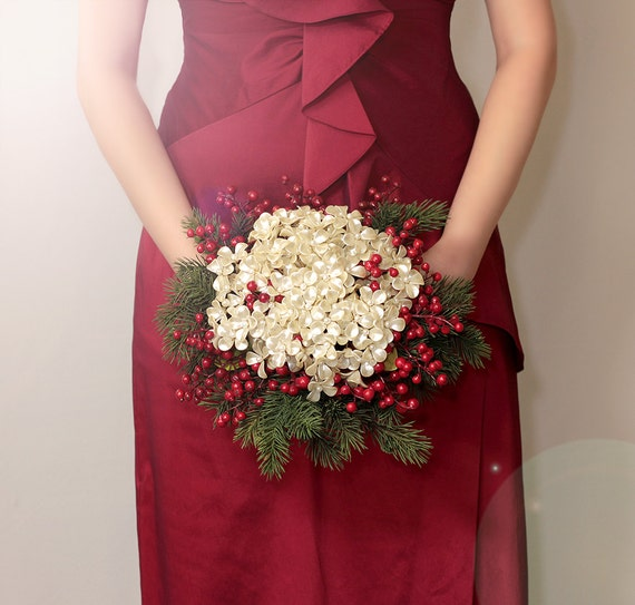 Christmas Wedding Flower Ideas: Wedding Ideas: Christmas Wedding