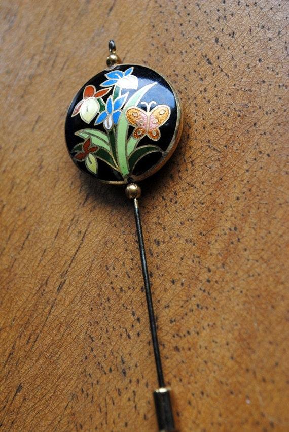Cloisonne Stick Pin
