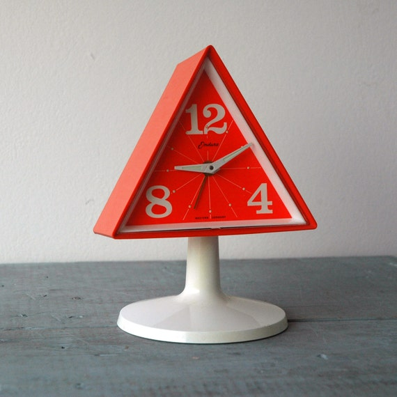 Endura Triangle Clock By SwitchbladeandCookie On Etsy