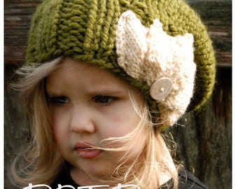 Knitting PATTERN-The Setiya Slouchy (Toddler, Child and Adult sizes)