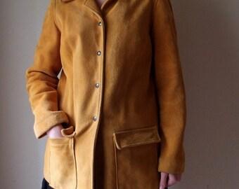 "Elk skin jacket 40"" bust"