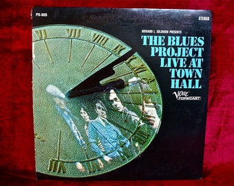 The BLUES PROJECT - Live at Town Hall- 1967 Vintage Vinyl Record Album