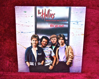 The HOLLIES - What Goes Around - 1983 Vintage Vinyl  Record Album
