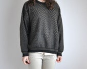 Unisex Brown Vintage Sweater