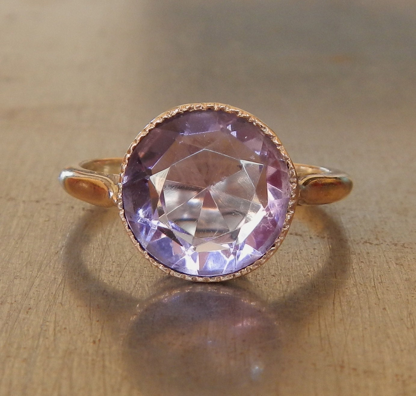 amethyst ring vintage - photo #2