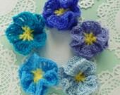 Flower Crochet Pattern Amelie - Easy beginner PDF - PHOTO TUTORIAL crochet instructions -  Flower crochet  pattern - Instant Download