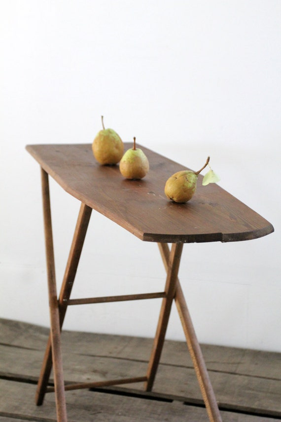 Small Ironing Board / Vintage Wood Ironing Board