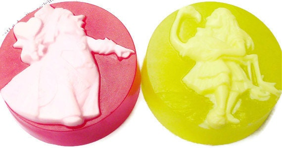 Alice's Wonderland Soap, LEWIS CARROLL Soaps, Individual Collection, Choose One, Cat Soap, Rabbit Soap, Queen Soap