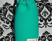 Neoprene lens case - turquoise