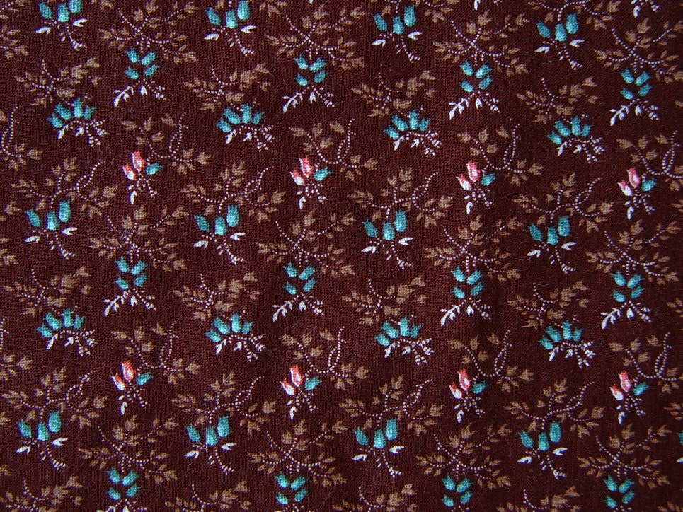 Brown Cotton Quilt Fabric Cranston VIP Printworks By