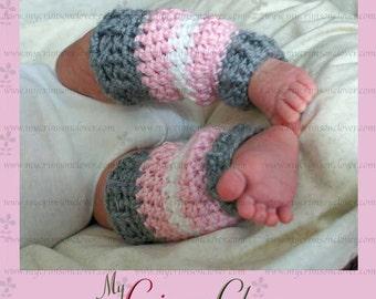 """Crochet Pattern Leg Warmers Baby """"Sweet Lil Leg Warmers"""""""