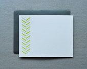 good lines letterpress cards