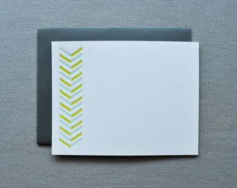 good lines letterpress cards