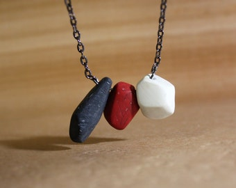 Volcano Necklace - Geometric Beads