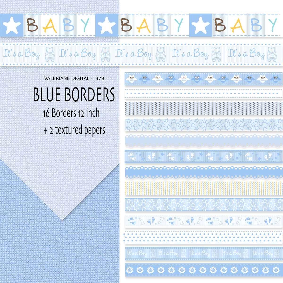 Printable Baby Borders Baby digital border,