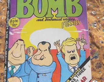 Hydrogen Bomb Funnies No 1 Comix 1970 Robert Crumb Kim Deitch Robert Williams Gilbert Shelton S. Clay Wilson Greg Irons