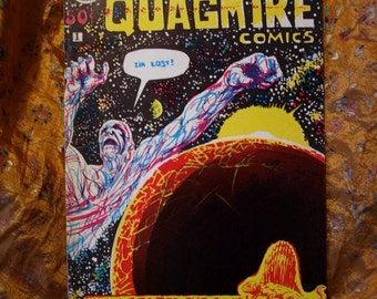 Quagmire Comics No 1 Summer 1970 1st Sci Fi Horror Kitchen Sink Poplaski Kuipers Underground Alternative Comix