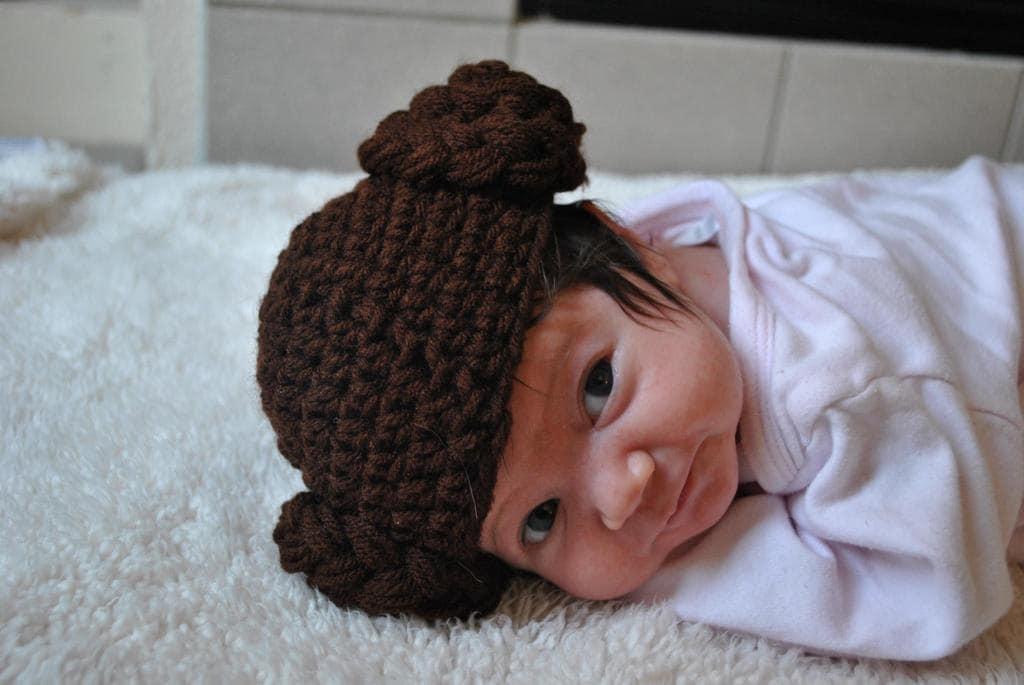 Baby Princess Leia Hat