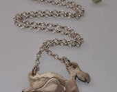 Prove Love isn't  dead with this adorable Dodo, handmade in solid silver.......