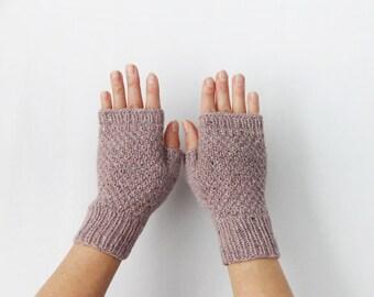Fingerless Gloves, Wool Gloves, Women's Gloves, Fingerless Mittens