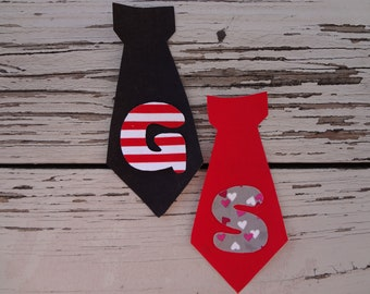Diy Iron On Applique BOY TIE Boy Choose Colors Diy Photo Prop Holiday Valentines Party Back to School My Little Beauty Queen