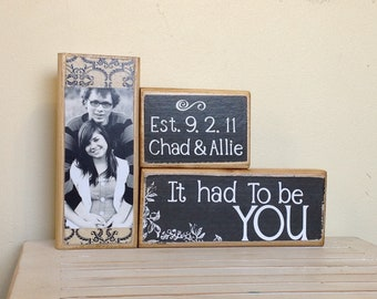 Unique Wedding gifts for couple, bridal shower gift, engagement, fiance, home decor, custom wedding gift, personalized sign, wedding sign