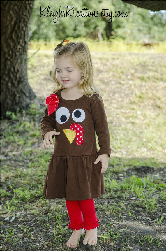 Girls Turkey Dress