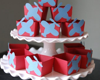 Airplane Candy Cups, Airplane Party Supplies, Airplane Birthday, Airplane Baby Shower, Airplane Decorations, 12 Pcs