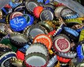 One Pound Of Beer Bottle Caps - About 200 Caps -  Lot Of Beer Caps