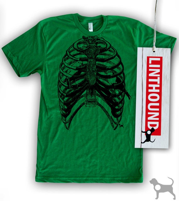 Rib Cage Bird Cage Men's/Unisex T-Shirt