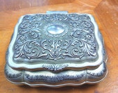 Vintage Silverplated jewelry box