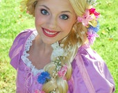 Rapunzel Wig - Disney Princess inspired - Blonde extra long braid - Doretta's creations (MADE TO ORDER)