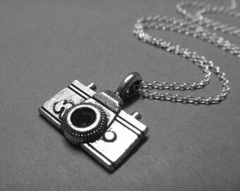 Camera Charm Necklace