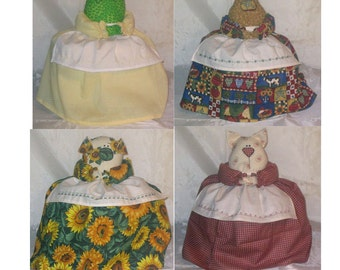 Four Fat Toaster Covers CRAFT PATTERNS  PDF e-pattern