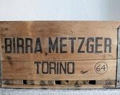 WOOD CRATE BOX // Birra Metzger // Primitive Storage