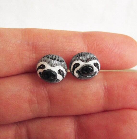 Sloth Stud Earrings