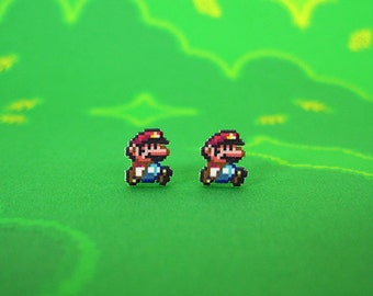 Super Mario World Earrings