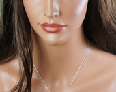 Bridesmaids gift, Pearl necklace, Bridesmaid necklace