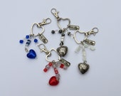 Hearted Keychains