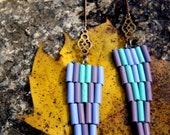 Arrow Earrings, Native American Geometric Earrings