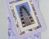 Photo Greeting Card - Blank Photo Note Card - Photography - Art - Still Life Photography - Carnival Photo Card - Skywheel Photo