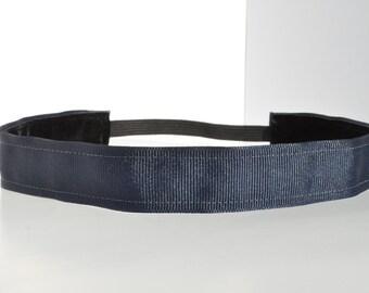 Sports Headband - Solid Navy Blue Headband | Non Slip Headband | Team Headband | No Slip Headband | Soccer Headband | Personalized Headbands