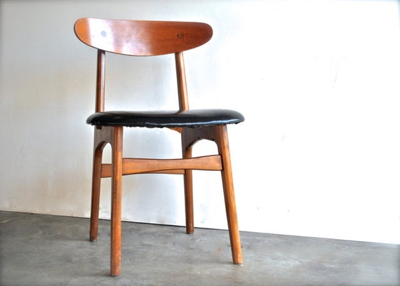 Mid Century Modern Side Chair - Made in Yugoslavia