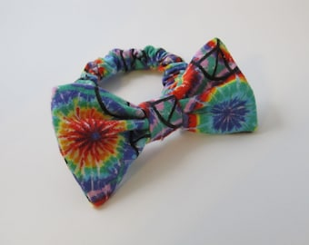 Tie Dyed Bow Tie Collar For Your Dog